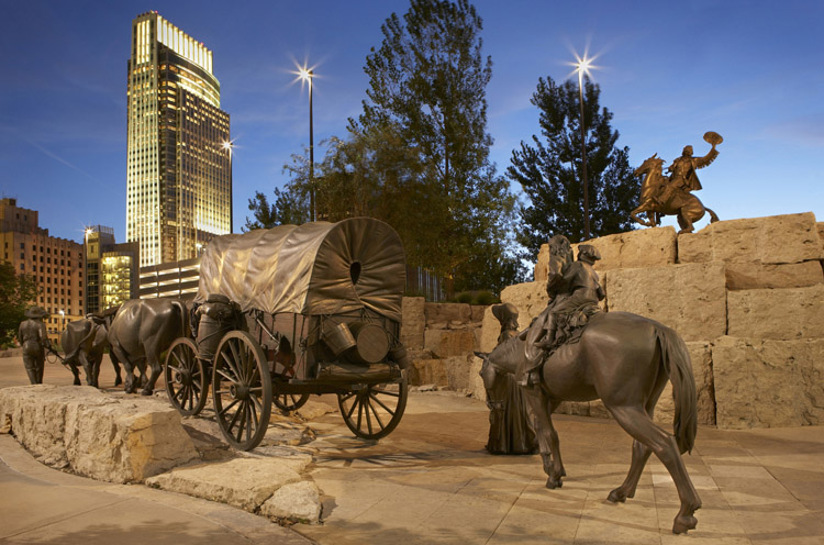 First National Bank Of Omaha Making An American Monument